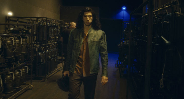 Adam Driver in a scene from
