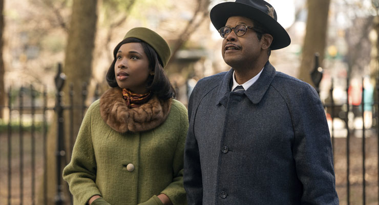 Jennifer Hudson and Forest Whitaker in a scene from
