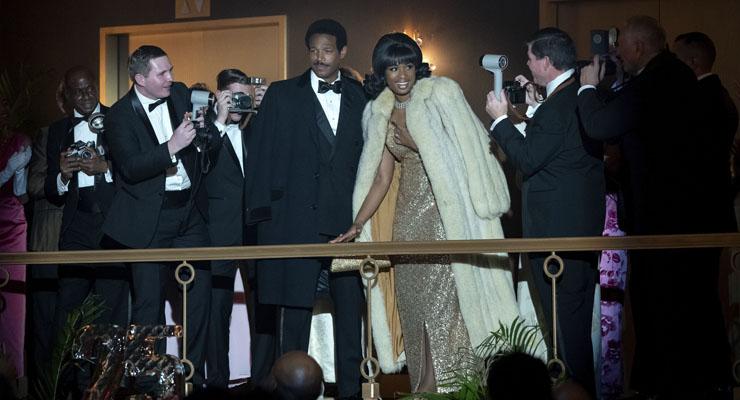 Marlon Wayans and Jennifer Hudson in a scene from