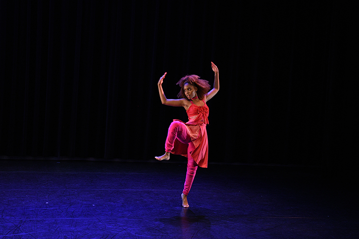Alondra Balbuena of Adele Myers and Dancers.