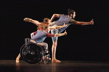 Dancing Wheels Company performing