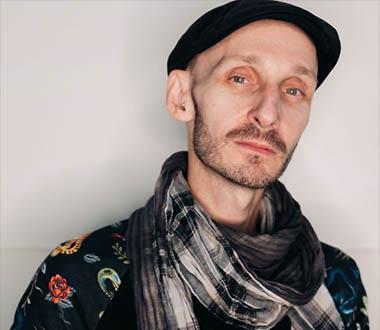 Marc Brew, artistic director of Axis Dance Company. (Photographer Maurice Ramirez).