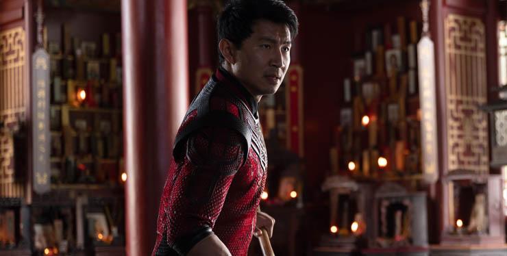 Simu Liu in a scene from