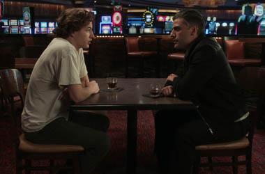 Tye Sheridan and Oscar Isaac in a scene from