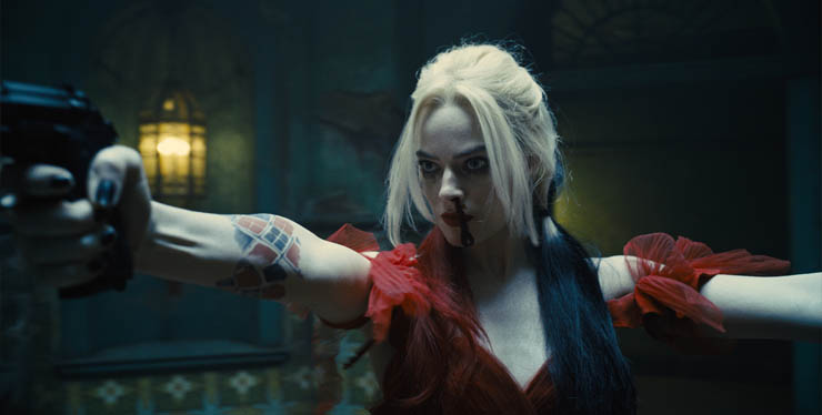 Margot Robbie in a scene from