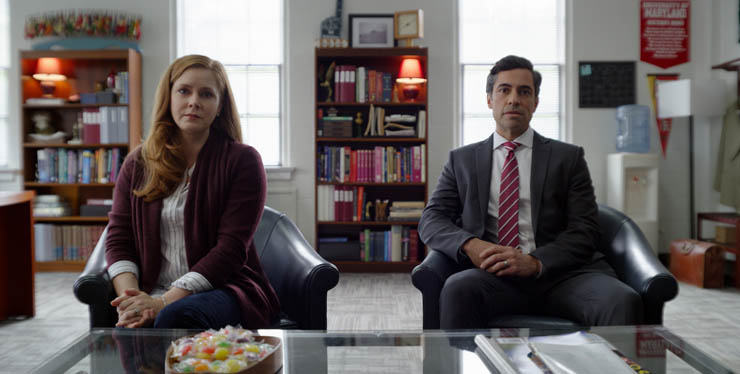 Amy Adams and Daniel Pino in a scene from